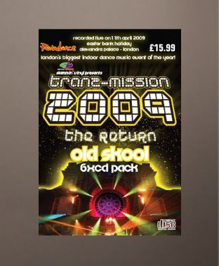 Tranz-mission 2009 - The Return - Old Skool Pack